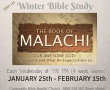 Winter Bible Study 2017